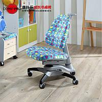 Детское компьютерное кресло Y618 Oxford Chair Blue Dinosaur