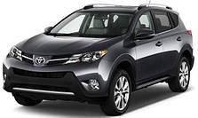 Защита двигателя на Toyota RAV-4 (2013-2019)