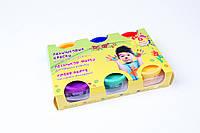 """Пальчиковые краски """"Мультяшки"""" 6 цветов ,№8868,набор для творчества и развития"""