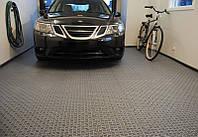 Резиновое напольное рулонное покрытие для гаража