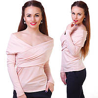 Блуза женская с открытыми плечами