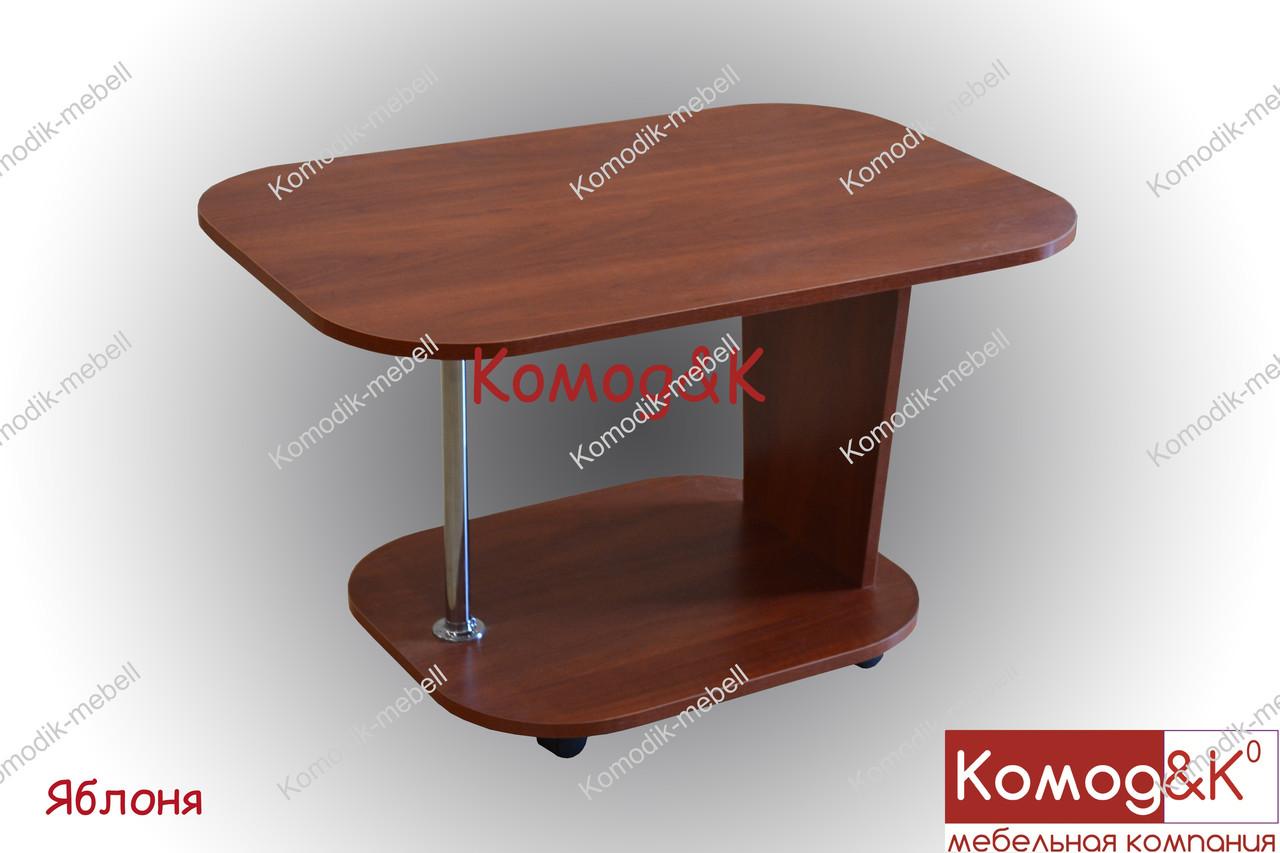Журнальный стол Овал цвет Яблоня