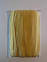 Парчовая Косая бейка стрейч 1.5 см