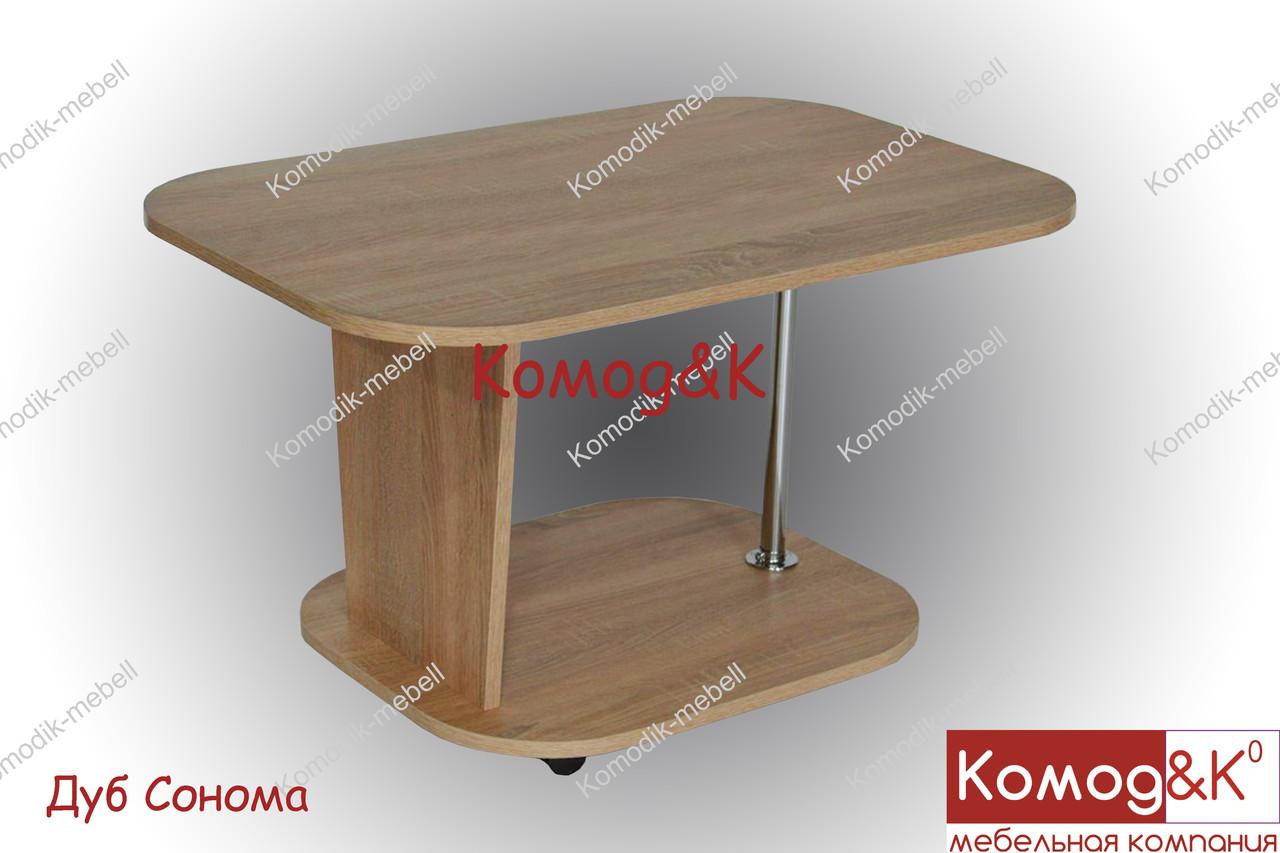 Журнальный стол Овал цвет Дуб Сонома