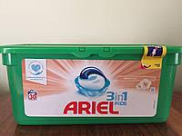 Капсулы гель Ariel 3в1 PODS Sensitive 28 шт.