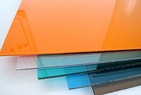 Монолитный Поликарбонат Borrex (Боррекс) 2,05*3,05 м. 4 мм. цветной, фото 1