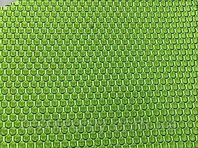 Сетка обувная цвет салатовый
