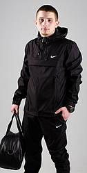 Чоловічий анорак Nike President чорний топ репліка