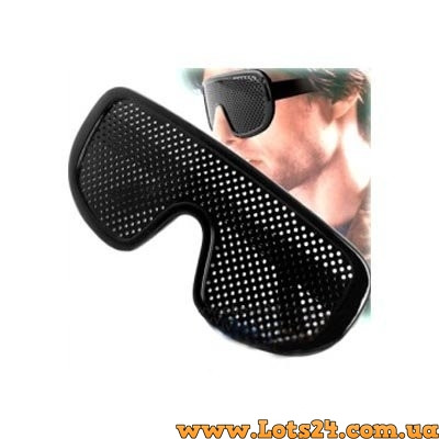 135f8f304d11 Очки тренажеры - перфорационные очки с дырочками для улучшения зрения, ...