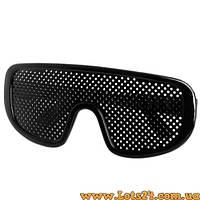 Перфорационные очки с дырочками для улучшения зрения
