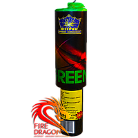 Цветная ручная дымовая шашка, время: 60 секунд, цвет дыма: зеленый