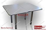 Стол Кухонный 900*600 раскладной  цвет Венге Светлый, фото 2