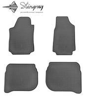 Комплект резиновых ковриков Stingray для автомобиля AUDI 100 1990-
