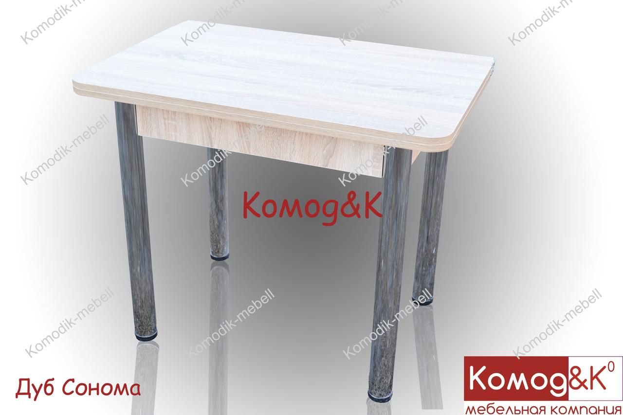 Стол Кухонный 900*600 раскладной  цвет Дуб Сонома