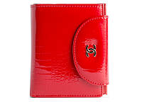 Красный кожаный кошелек Chanel 8007 red