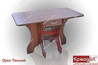 Стол Кухонный трансформер цвет Орех Темный, фото 1