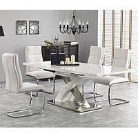 Стол обеденный SANDOR 2 HALMAR (белый)