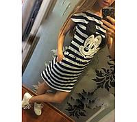Спортивное Платье летнее с Микки Маусом
