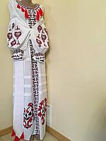 Сукня жіноча вишита дизайнерська робота розмір 42 (S), фото 1
