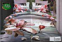 Комплект постельного белья (евро-размер) - № 508
