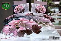 Комплект постельного белья (евро-размер) - № 507
