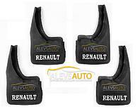 Брызговики комплект (4 шт, резина) - Renault Master (2003-2010)