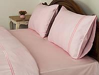 Постельное белье Tac Hotel Life Mio розовое евро