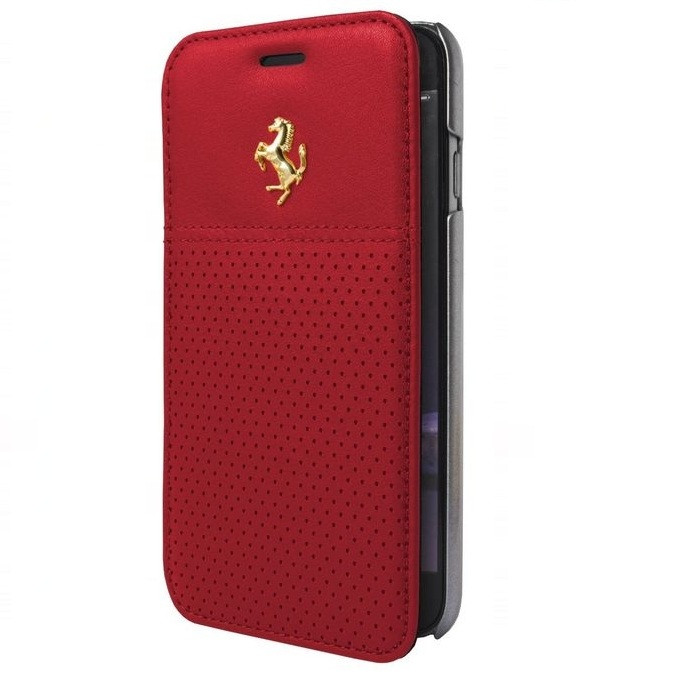 Кожаный чехол книжка CG Mobile Ferrari Berlinetta для iPhone 6 Plus/6S Plus