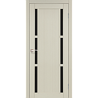 Дверь VALENTINO DeLuxe  VLD-04. Со стеклом сатин (дуб беленый,дуб грей,орех). KORFAD (КОРФАД)