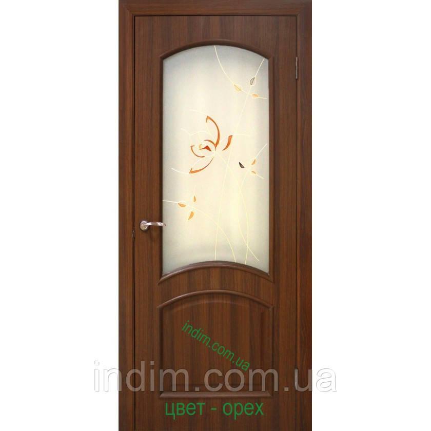Двери ламинированные пленкой ПВХ  Адель СС+КР  - интернет - магазин  Дім в Киеве