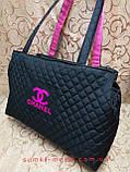 Женские сумка стеганная Сhanel/Шанель (Лучшее качество)сумка стеганная/ Сумка спортивная(Стильная), фото 2