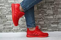 Женские кроссовки, красного цвета