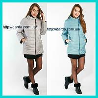 Осенние куртки женские большие размеры Q.P. 7811