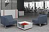 Диван офисный модульный опора металл с покраской ТОРУС, фото 3