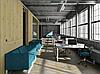 Диван офисный модульный опора металл с покраской ТОРУС, фото 4