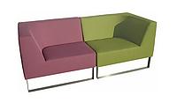 Модульный офисный диван ТОРУС (опора нержавеющая сталь)