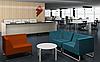 Диван офисный модульный опора металл с покраской ТОРУС, фото 5