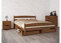 """Кровать деревянная """"Лика с ящиками"""" 1,6"""