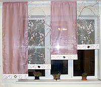 Комплект  штор тюль Сакура