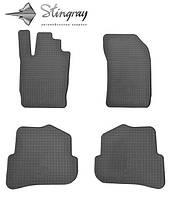 Комплект резиновых ковриков Stingray для автомобиля  Audi A1 2010-   , 4шт.