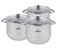 Набор посуды Bohmann BH-3434 (6 предметов)
