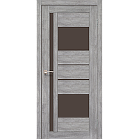 """Дверь VENECIA DeLuxe  VND-03. Исполнение: со стеклом """"бронза"""". KORFAD"""