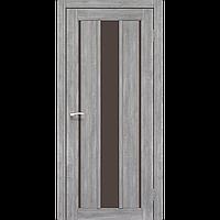 Дверь VENECIA DeLuxe  VND-04. Со стеклом сатин (эш-вайт,дуб браш,ясень белый). KORFAD (КОРФАД)