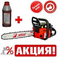 Бензопила EFCO MT442 Professional ITALY (2 шины, 2 цепи) + масло