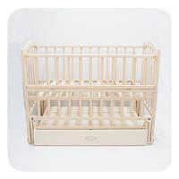 """Дитяче ліжко """"Lux""""- Слонова кість"""