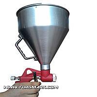 Штукатурный распылитель, три форсунки 4;6;8 мм, В/Б металлический, 6000 мл, 3-6 ba