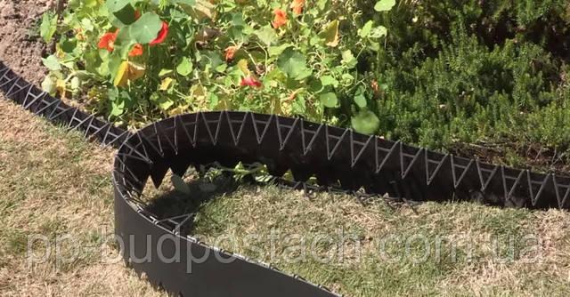 Как правильно выбрать бордюр садовый