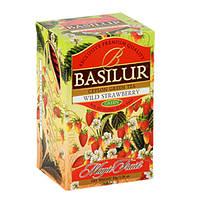 Чай зеленый Basilur коллекция Волшебные фрукты Земляника 20х2г