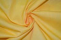 Рубашечная ткань желтая