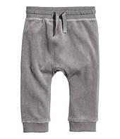 Велюровые штанишки H&M 6-9мес